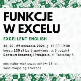 Funkcje w Excelu - kurs stacjonarny